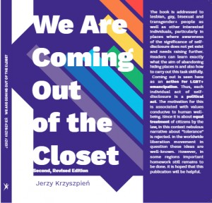 WE ARE COMING OUT OF THE CLOSET (Revised Edition 2019)
